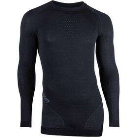 UYN Fusyon UW Longsleeve Shirt Heren, black/anthracite/anthracite